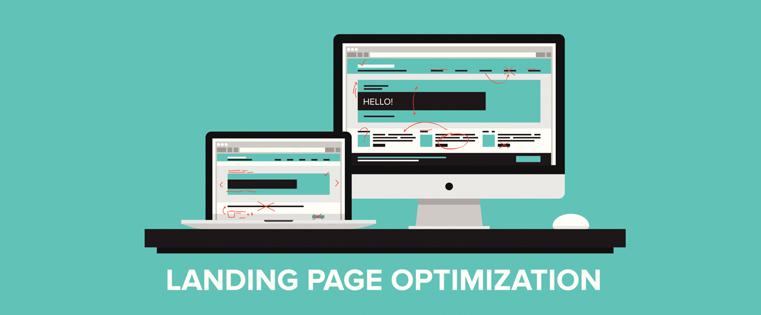 blog vancouver landing page design